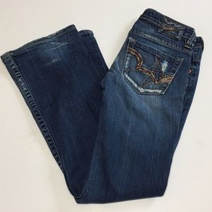 Big Star Casey K distressed jeans